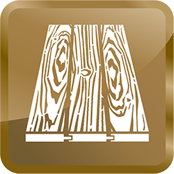 wood floor cleaning icon