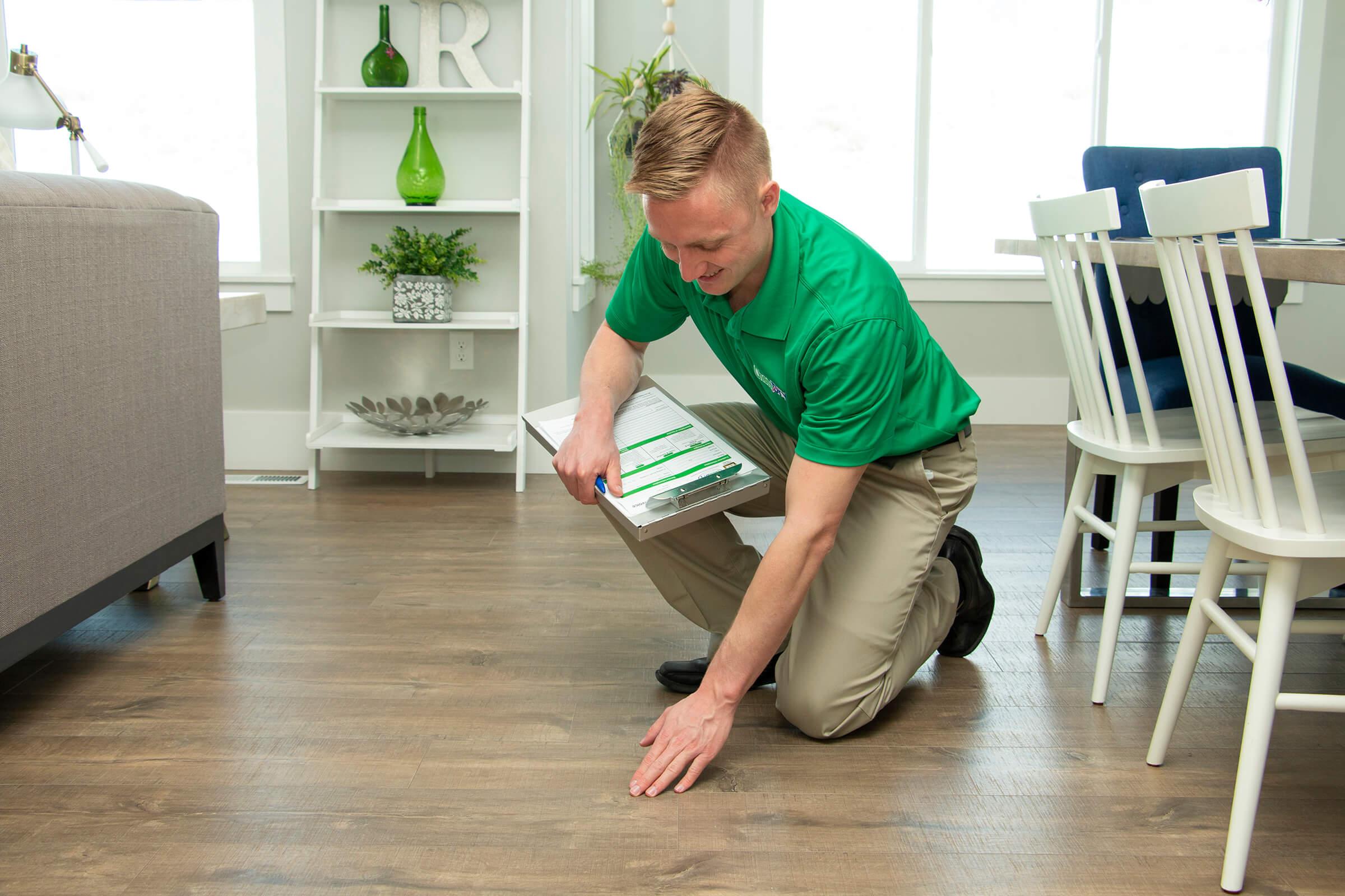 hardwood floor cleaning in valparaiso